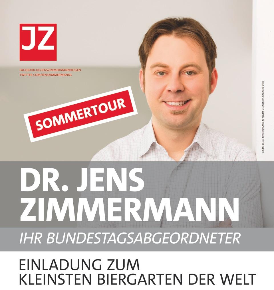 Dr. Jens ZimmermannDr. Jens Zimmermann (MdB) lädt ein zum kleinsten ...