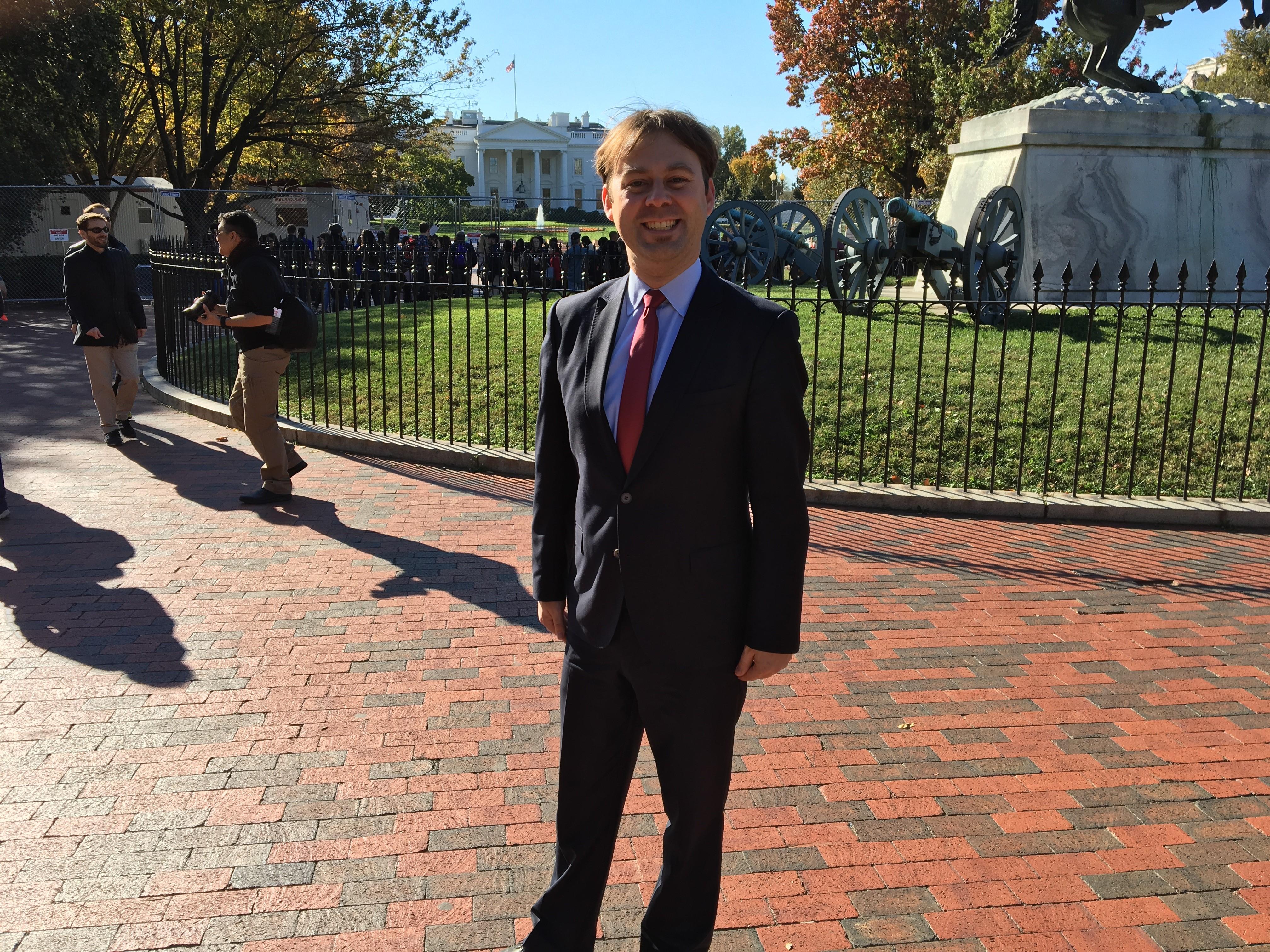 Dr. Jens Zimmermann ist als OSZE-Wahlbeobachte bei der US-Wahl in Washington im Einsatz.